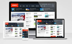 SJ News II – Free Responsive Joomla Template for News Portal