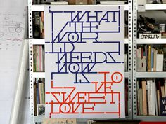 Design › Yomar Augusto #print #color #poster #layout #typography