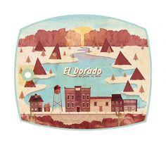 El Dorado - The Everywhere Project #dorado #el #been #everywhere #thomas #glenn #illustration #tag #california
