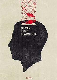 tumblr_lzt936kajT1qdfyg7o1_400.jpg (354×500) #learning #silhouette #poster