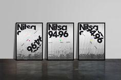 Mucho Nitsa 94 96: El Giro Electrónico #poster #typography