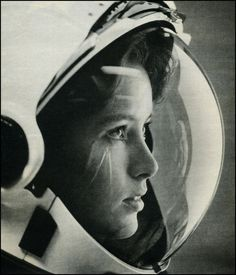 this isn't happiness.™ Peter Nidzgorski, tumblr #woman #astronaut #helmet #glass #reflection