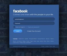 Facebook New Look #facebook