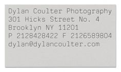 Triboro Design — SI Special #type #coulter #photography