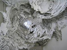 Mia Pearlman | iGNANT #installation #paper #mia pearlman #cut out