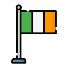 See more icon inspiration related to ireland, flag, country, nation, flags and world on Flaticon.