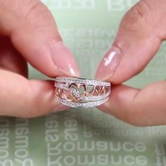 Make her heart beat faster with this engagement ring