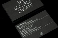The Lollipop Shoppe identity, by StudioMakgill Creative Journal #cards #business