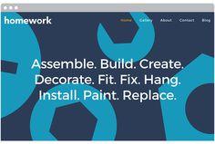 Homework by 2A Studio #website #web #site