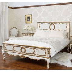 French bed - Palais -The French Bedroom Company - www.homeworlddesign.com