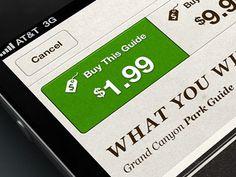 Nag geo small #buy #ui #action #green
