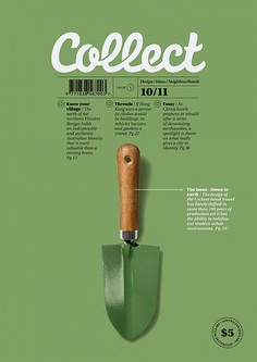 Nice cover for the Australian magazine, Collect.
