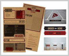 01-retro-pizza-menu-design #menu #layout