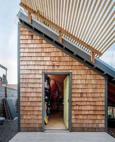 Lily Copenagle and Jamie Kennel's 704 sq ft house in #Portland, Oregon