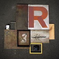 Dropular #art #typography #collage #rustic