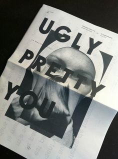 Ugly. Pretty. You. #raaaar #poster #typography