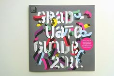 Creative Review - CR Graduate Guide 2011 #colour #typography