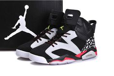 Nike Jordans Shoes 6 Female Raygun Customs by Ramses White Black Red #shoes