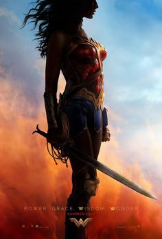wonder woman #poster #film #cinema #movie