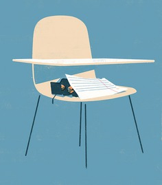 NYTimes | A college student in NYC on the brink of homelessness #illustration