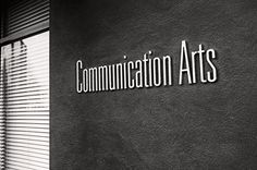Communication Arts #letters #sign #design #typeface #exterior #signage #type
