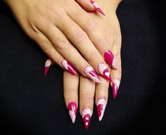 45+ Fearless Stiletto Nails #nails #stiletto