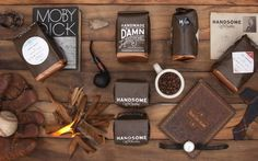 Handsome Coffee Roasters Identity Design by PTARMAK #coffe #design #package