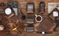 Handsome Coffee Roasters by PTARMAK #packaging