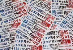 Letterpress Brasil | Flickr – Compartilhamento de fotos! #lambe #handymade #poster #cartaz