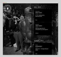 Split Screen #website #layout #design #web
