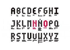 No, proyecto final de ESDI   Ciscu Design #font #experimental #typography
