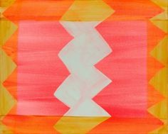 e s t h e r #zigzag #pattern #citrus #watercolour