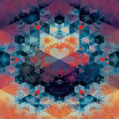 It\'s Nice That : Andy Gilmore\'s painstakingly created geometric patterns are beautifully hypnotic