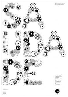 Prints and Posters / Geetika Alok   Shiro to Kuro #lettering #typography