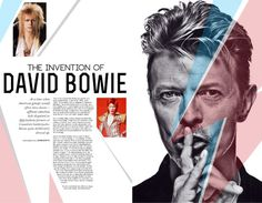 Portfolio / Print / Bowie Layout #bowie #layout #design #editorial #profile