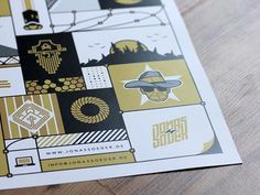 Illustration Poster #pattern