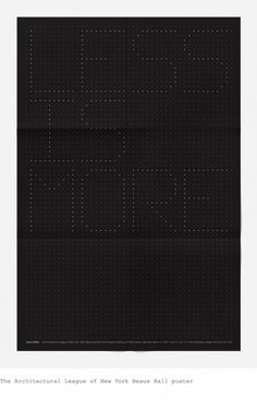 Gary Pikovsky, Design & Art Direction — 2011 #dots #dark #typography