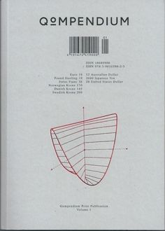 MatterPrinted › Curated covers of printed matter, TITLE: QOMPENDIUM | VOLUME: I | ORIGIN: DE | YEAR:... #cover #qompendium