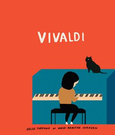 VIVALDI marikajo.com #music #illustration #book