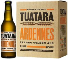 Tuatara Ardennes #packaging #beer #label #bottle