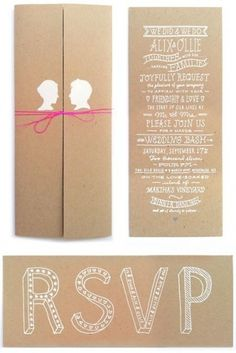 madgas / Pinterest #print #silkscreen #invitation