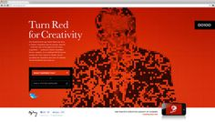 Greg Scott #red #portrait #web #background