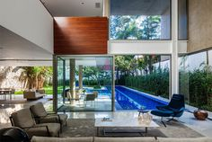 Concrete And Glass House - #architecture, #house, #home, #interior, #homedecor,