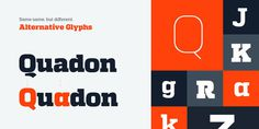 Quadon #typography #fonts