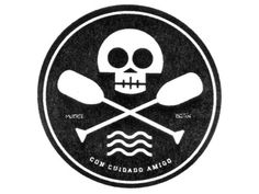 Dribbble Lake Pirates by Erick Montes #logo #skull #circle