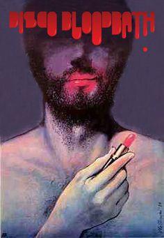 Disco Bloodbath #branding #print #poster #art #music #logo