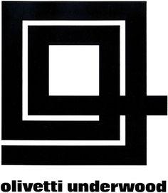 Olivetti Underwood Logo #logo #olivetti #underwood