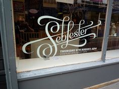 All sizes | Setting up the show | Flickr - Photo Sharing! #lester #window #type #seb #typography