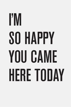 I'm So Happy #design #poster #tyler #quarles #typography