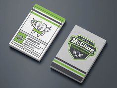 McClure Pediatric Dentistry Business Card